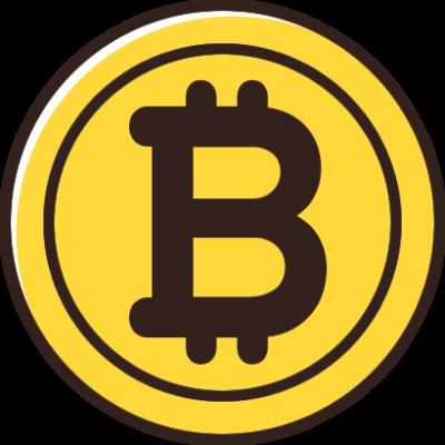 ビットコインのイラスト素材