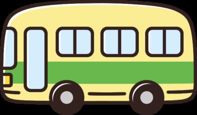 かわいいバスのイラスト