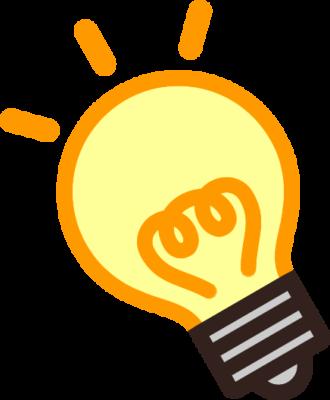 電球のイラスト