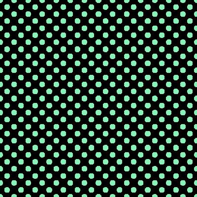 ドット柄(水玉模様)の背景透過PNGイラスト・パターン素材(緑色)