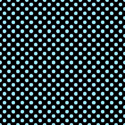 ドット柄(水玉模様)の背景透過PNGイラスト・パターン素材(水色)