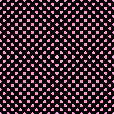 ドット柄(水玉模様)の背景透過PNGイラスト・パターン素材(ピンク色)