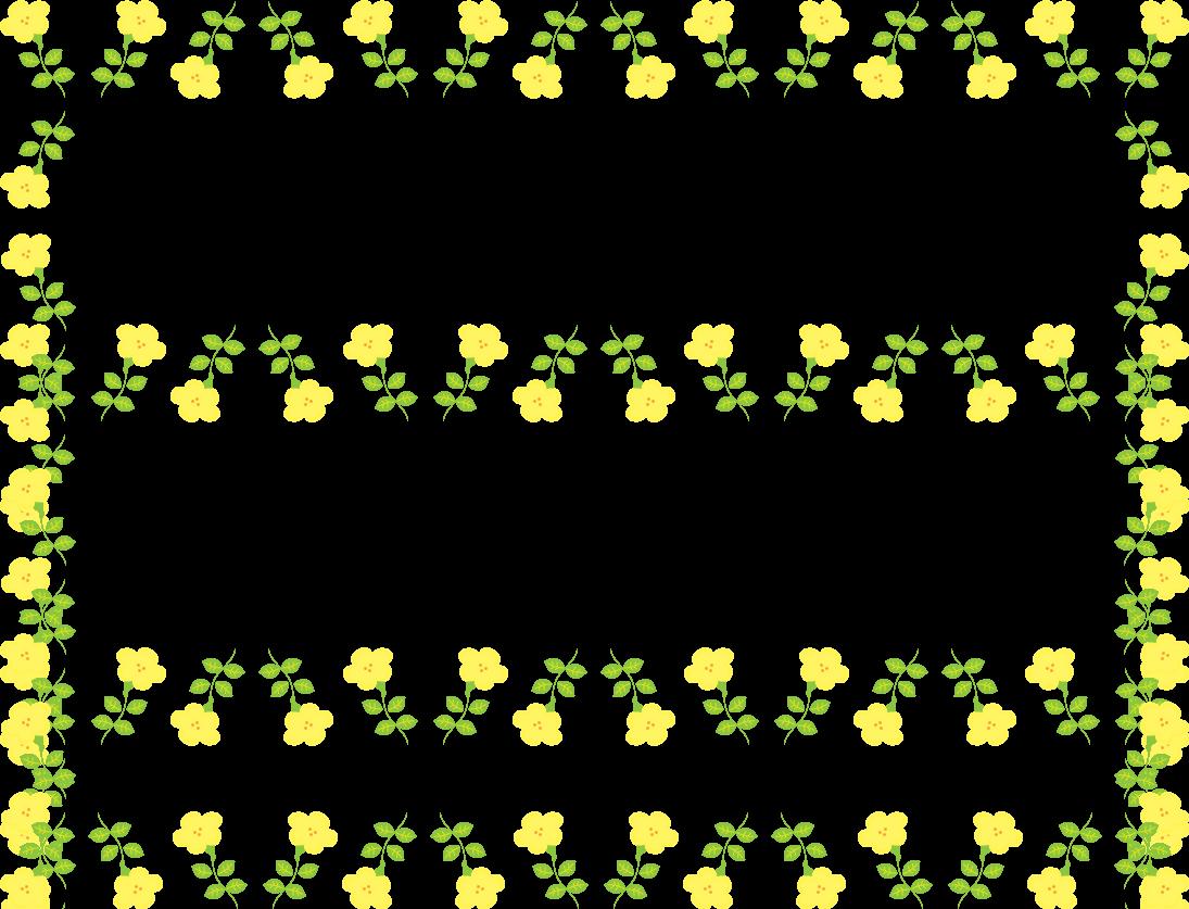 かわいい春の花のフレーム枠イラスト イラストストック