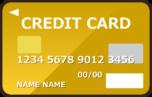 ゴールドカードのイラスト