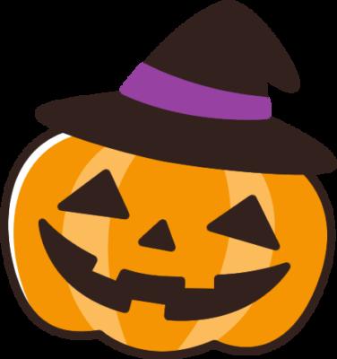 かわいいハロウィンかぼちゃのイラスト