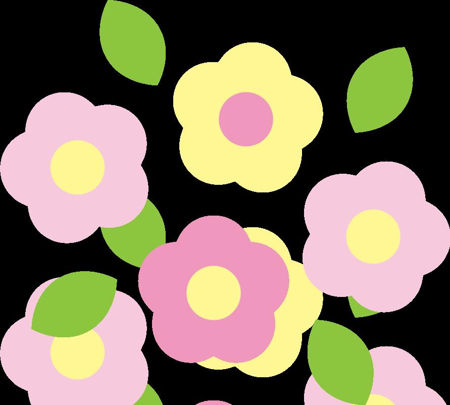 かわいい春の花のイラスト イラストストック