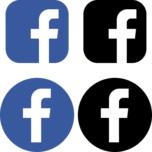 Facebook(フェイスブック)のSNSアイコンイラスト