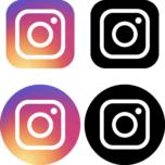 Instagram(インスタグラム)のSNSアイコンイラスト