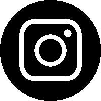 Instagram(インスタグラム)のアイコンイラスト<丸・モノクロ>