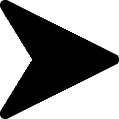 矢印アイコンのシルエットイラスト素材02