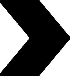 矢印アイコンのシルエットイラスト素材01