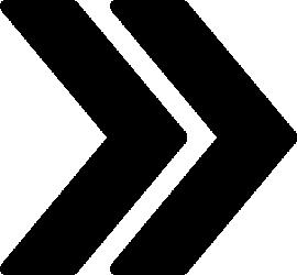矢印アイコンのシルエットイラスト素材04