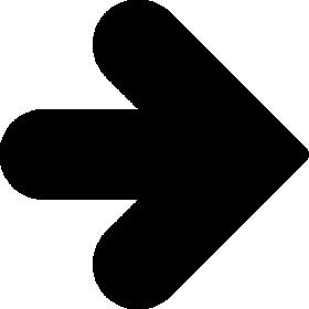 矢印アイコンのシルエットイラスト素材05