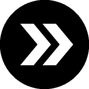 矢印アイコンのシルエットイラスト素材12