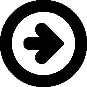 矢印アイコンのシルエットイラスト素材16