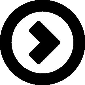 矢印アイコンのシルエットイラスト素材13