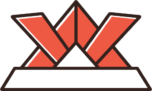 折り紙の兜のイラスト(赤色)