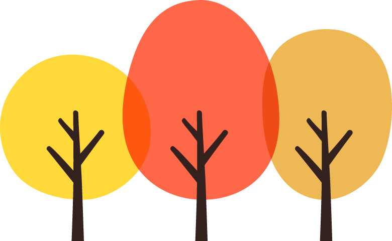 紅葉した木のイラスト イラストストック