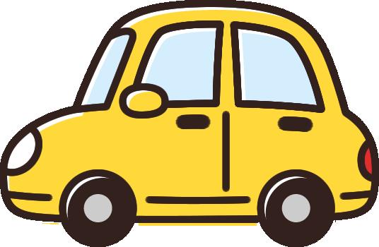かわいい車のイラスト黄色 イラストストック