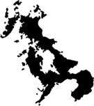 長崎県地図の無料イラストフリー素材(モノクロ・シルエット)