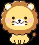かわいいライオンのイラスト