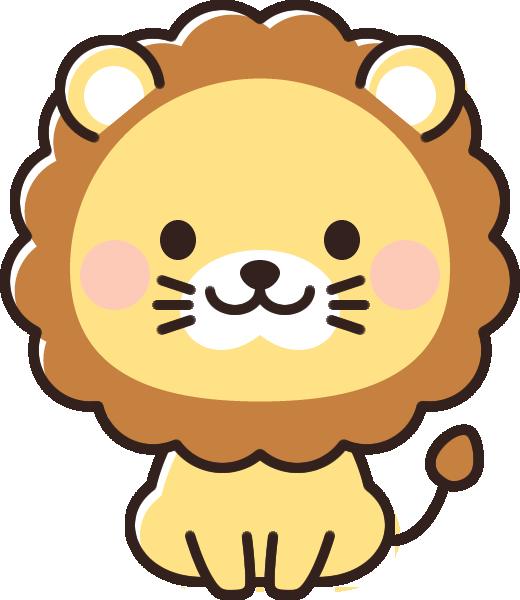 かわいいライオンのイラスト イラストストック
