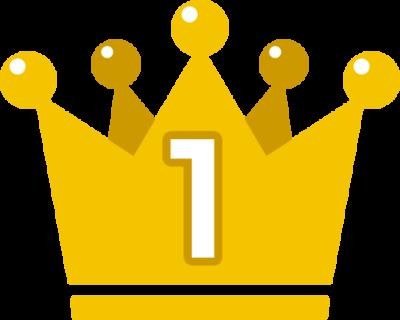 王冠のランキング・順位イラスト素材(1位)