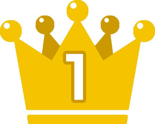 王冠のランキング 順位イラスト素材 1位 2位 3位 イラストストック