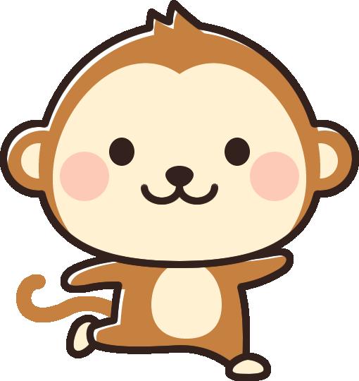 かわいい猿のイラスト イラストストック