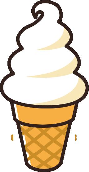ソフトクリームのイラスト イラストストック
