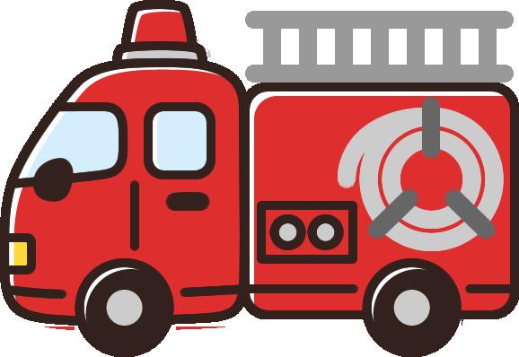 かわいい消防車のイラスト イラストストック